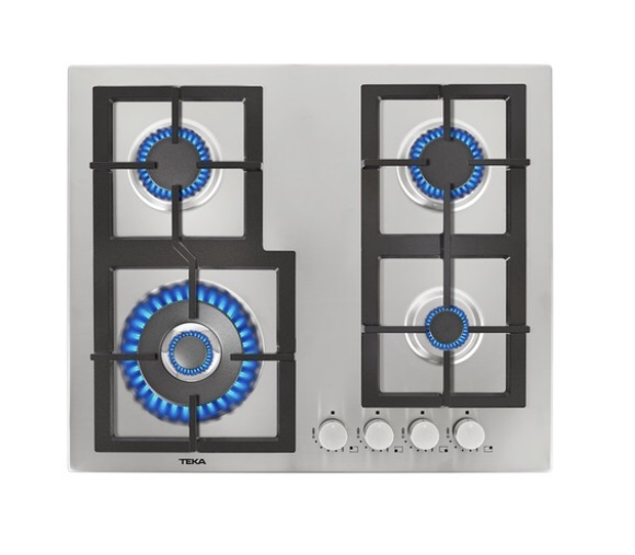 Stainless Steel Hob Total 60cm 4G