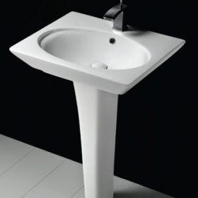 Opulence Washbasin + Full Pedestal (Hers)