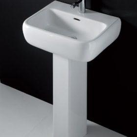 Metropolitan Washbasin + Full pedestal