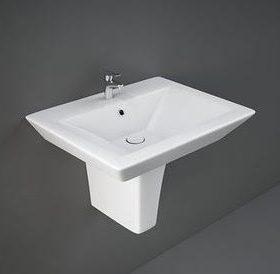 Opulence Washbasin + Semi pedestal