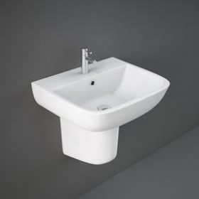Series 600 Washbasin + Semi pedestal