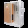 Rectangular Sauna + Compact System